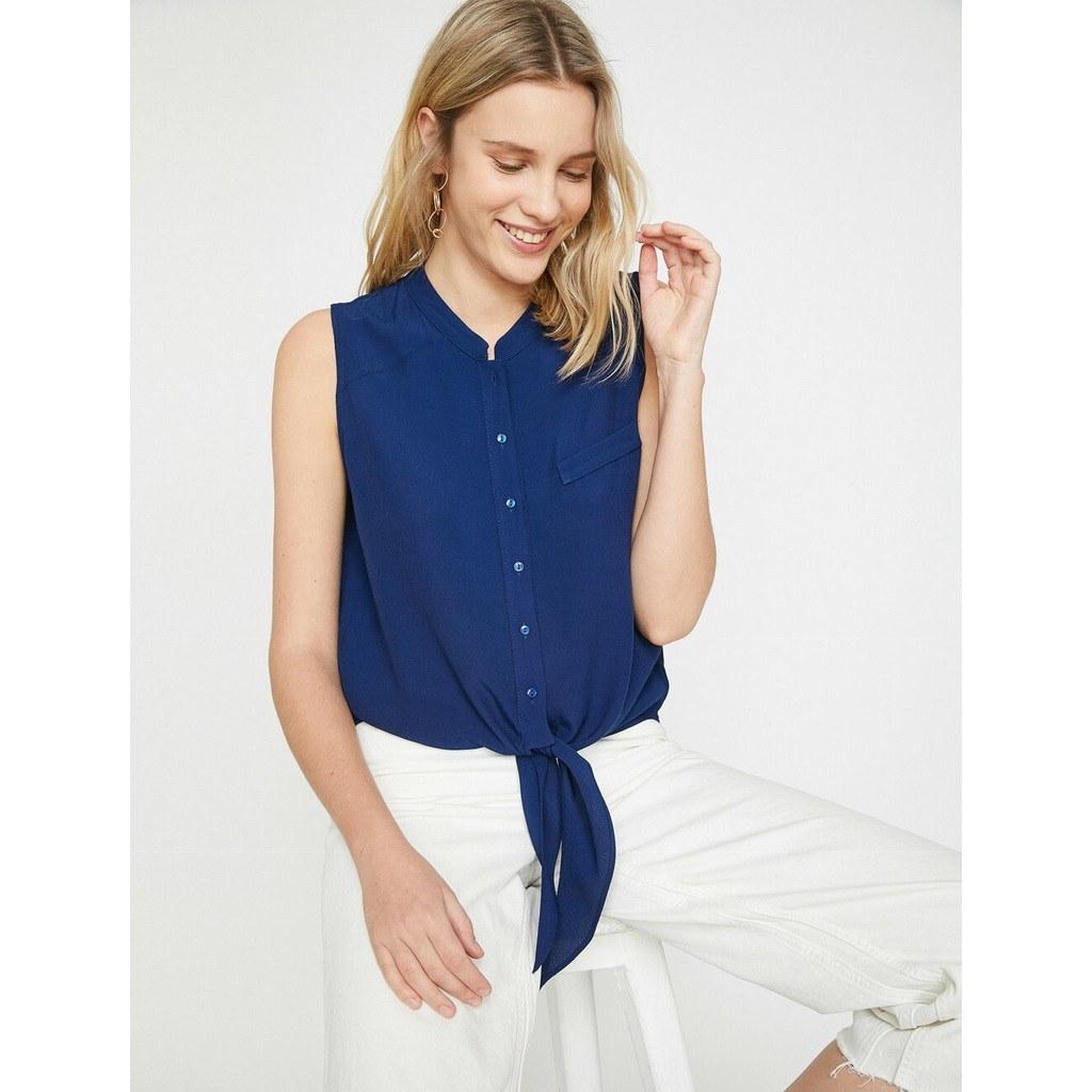 خرید اینترنتی پیراهن بدون آستین برند کوتون Koton اورجینال کد 3334651  