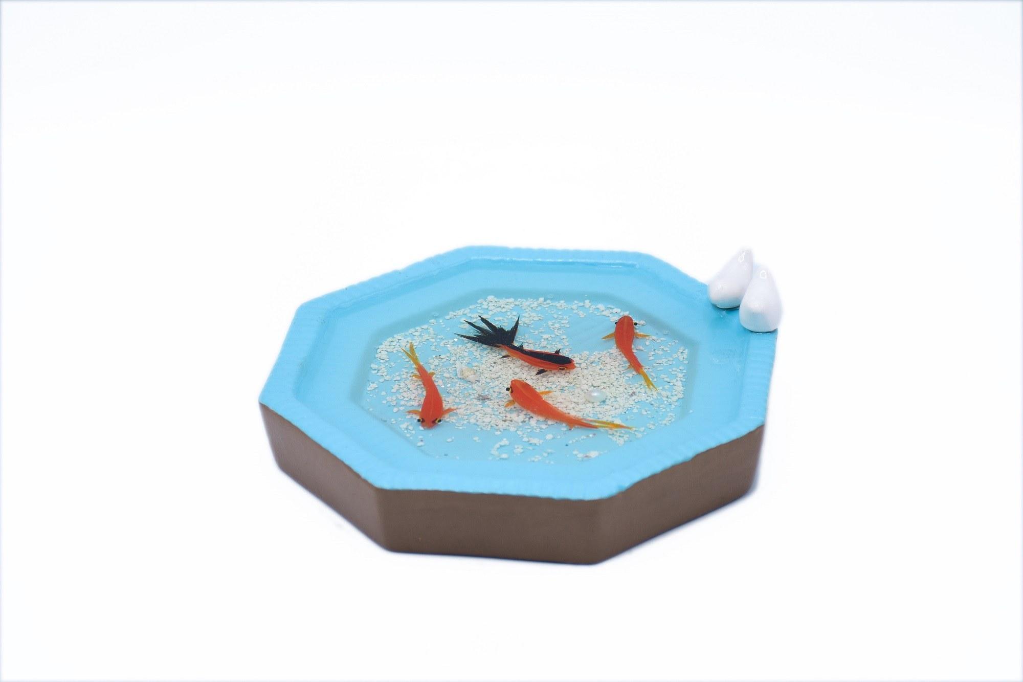 حوض مادربزرگ سایز بزرگ - ماهی قرمز