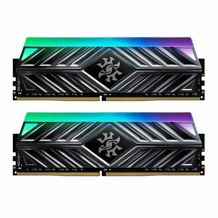 تصویر رم ای دیتا SPECTRIX D41 RGB 16GB 8GB×2 3600Mhz CL18 ا ADATA SPECTRIX D41 RGB 16GB 8GB×2 3600Mhz CL18 DDR4 Memory ADATA SPECTRIX D41 RGB 16GB 8GB×2 3600Mhz CL18 DDR4 Memory