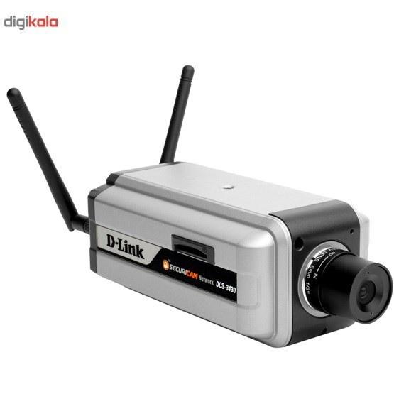 تصویر دوربین مداربسته تحت شبکه بالت دی لینک مدل DCS-3430