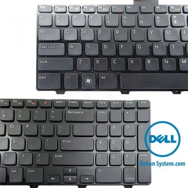 عکس کیبورد لپ تاپ Dell مدل Inspiron N5110 به همراه لیبل کیبورد فارسی جدا گانه کیبورد-لپ-تاپ-dell-مدل-inspiron-n5110