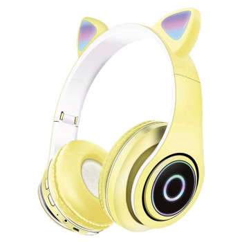 تصویر هدفون بلوتوثی مدل CAT EAR مدل P39M