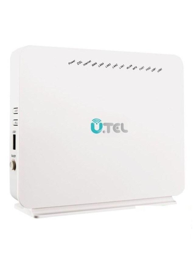 تصویر مودم روتر VDSL\ADSL,Voip بیسیم یوتل مدل وی ۳۰۴ اف U.TEL V304F 300Mbps Wireless Voip VDSL\ADSL Modem Router