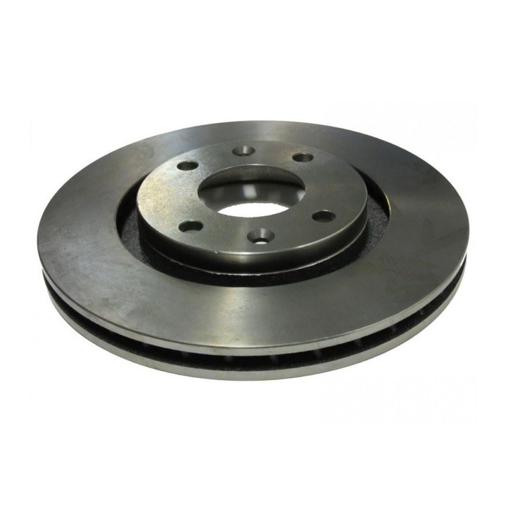 تصویر دیسک ترمز چرخ عقب پژو 206 تیپ 5 ، 207 و رانا عظام Rear Brake Disc for Peugeot 206 ,207, Runna
