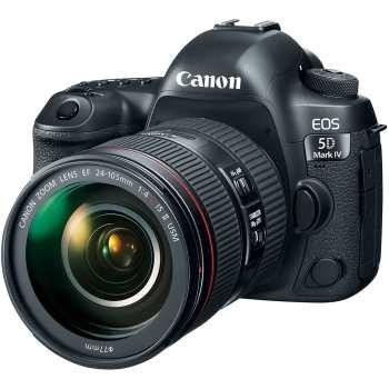 دوربین دیجیتال کانن مدل EOS 5D Mark IV به همراه لنز 24-105 میلی متر F4 L IS II | Canon EOS 5D Mark IV Digital Camera With 24-105 F4 L IS II Lens