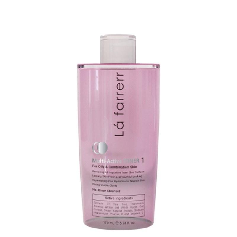 تصویر تونر پاک کننده پوست چرب لافارر La farrerr Multi Active Toner 1 For Oily and Combination Skin 170 ml