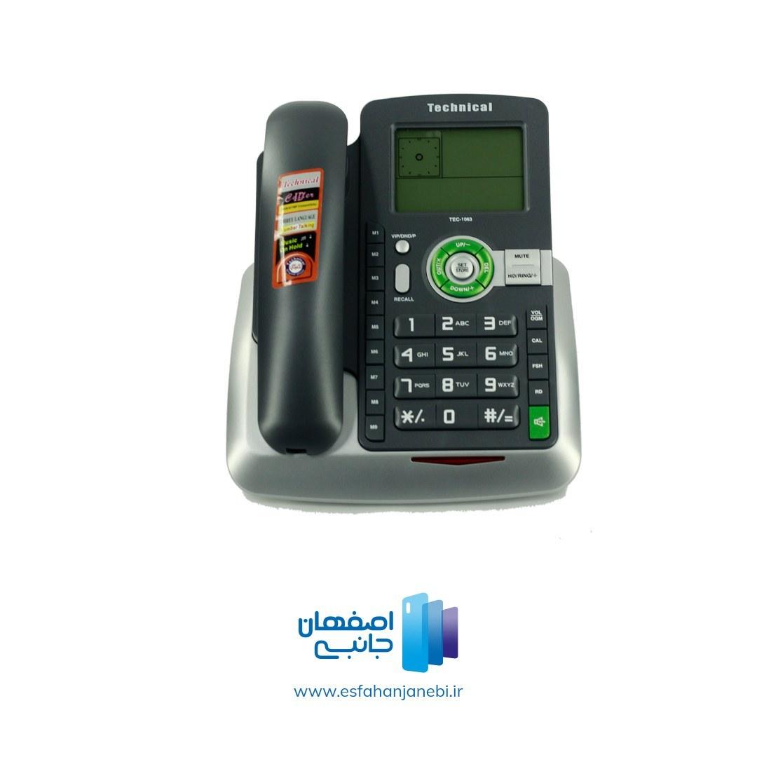تصویر تلفن تکنیکال مدل TEC-1063