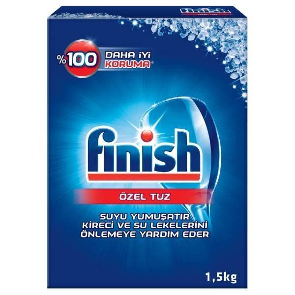 نمک ماشین ظرفشویی فینیش مدل Finish Dishwasher Salt بسته 1.5 کیلوگرمی