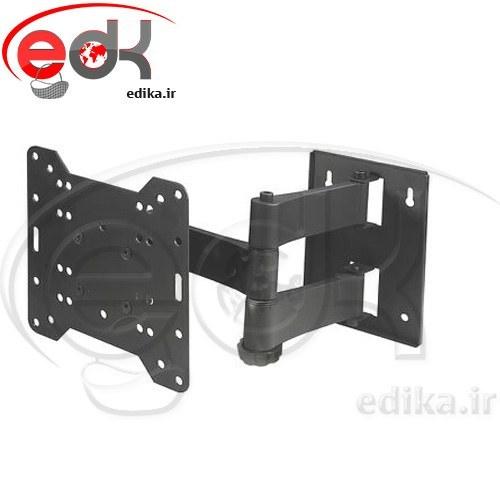 پایه دیواری بازویی چدنی متوسط مناسب ۱۵-۴۳ اینچ مدل BKA | BRACKET TV