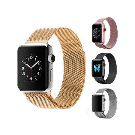تصویر بند حصیری ساعت هوشمند اپل واچ 38 میلی متری Apple Watch 38mm Milanese Band