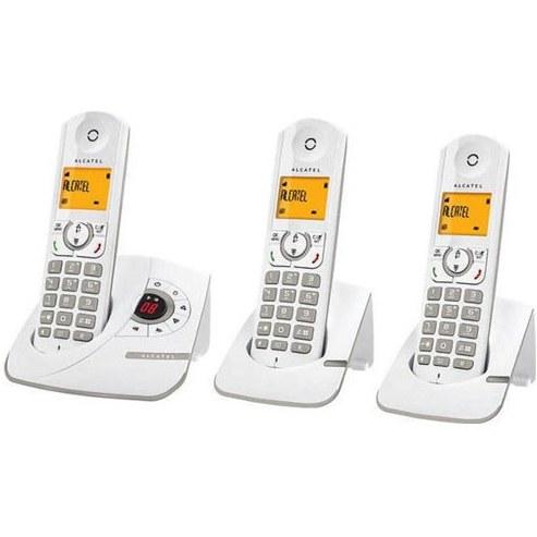 تصویر تلفن بی سیم آلکاتل مدل F330 Voice Trio