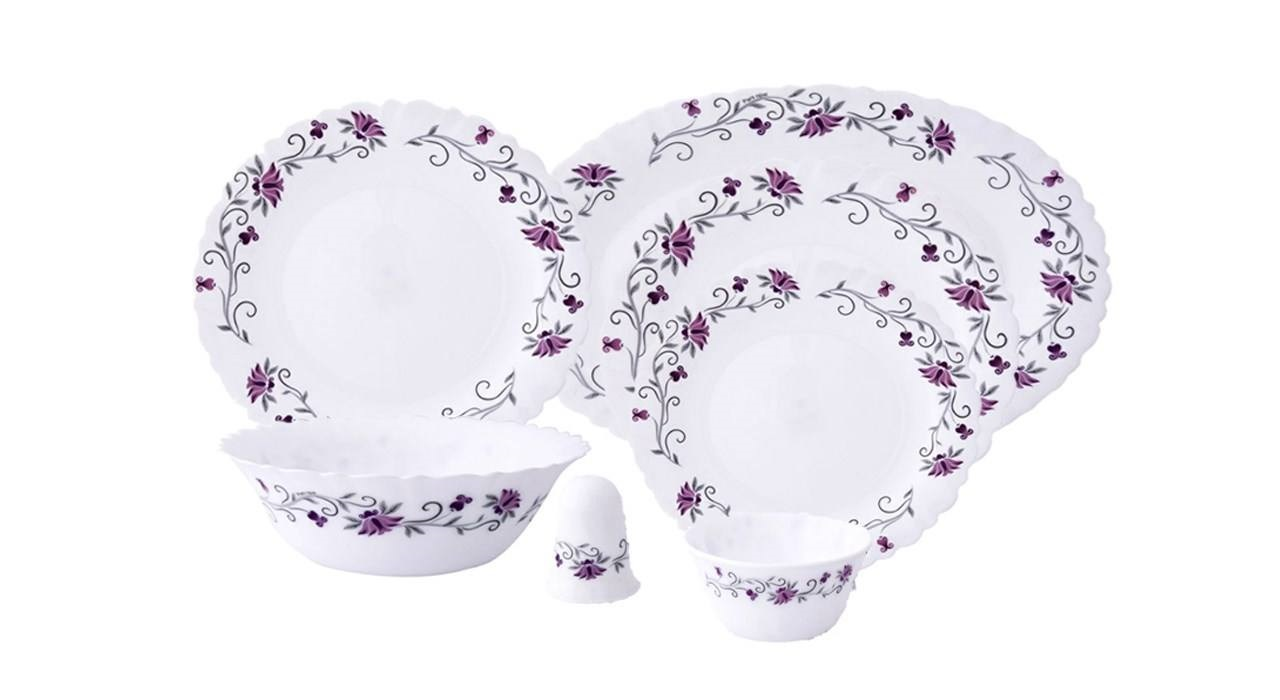 Pars Opal Linda 28 Pieces Dinnerware Set