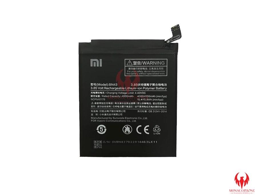 تصویر Xiaomi Redmi Note 4X Battery BN43 4100mAh باتری گوشی موبایل شیائومی ردمی نوت 4 ایکس