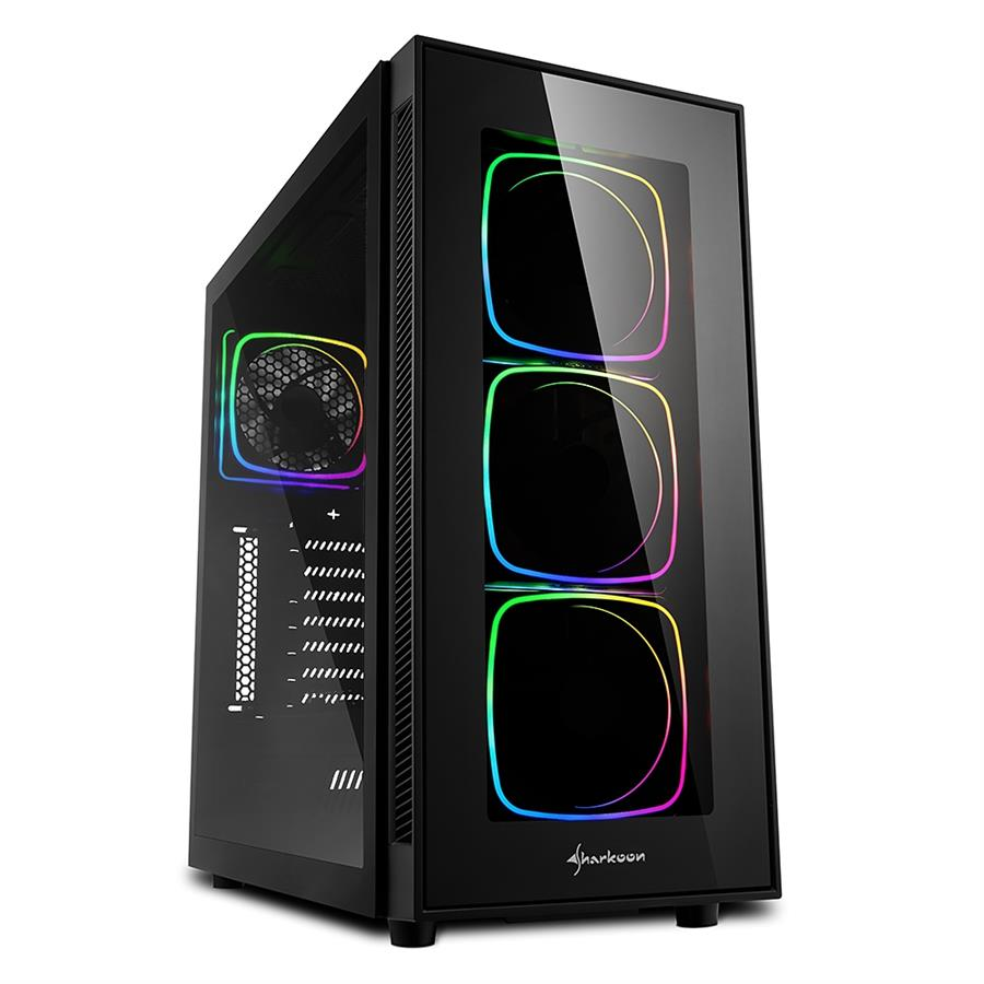 تصویر کیس شارکن مدل TG۶ RGB Sharkoon TG6 RGB ATX Midi Tower