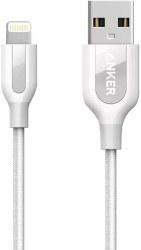تصویر کابل شارژ 0.9 متری USB به Lightning انکر مدل A8121H22