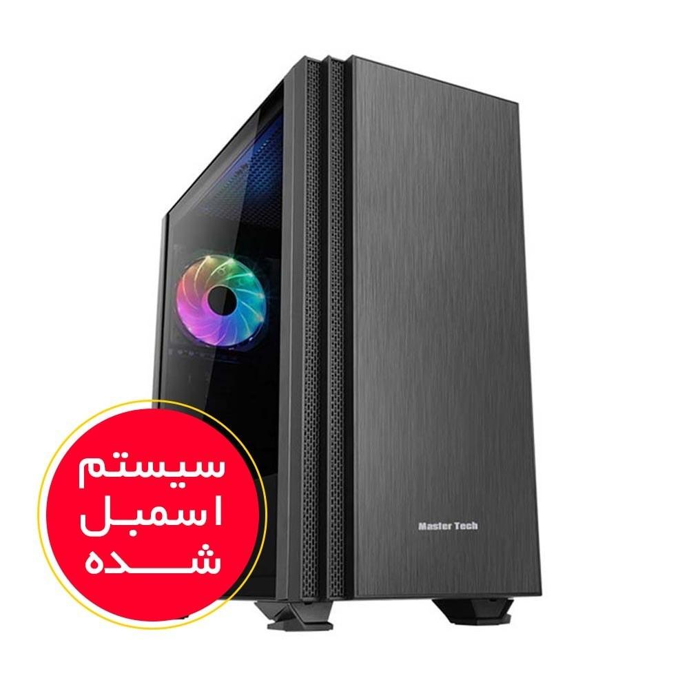 تصویر سیستم اسمبل شده ایسوس مدل A2 با پلتفرم اینتل گرافیک 2 گیگابایت PC A2 ASUS i5(9400F) 16GB(2400) RAM 240GB SSD