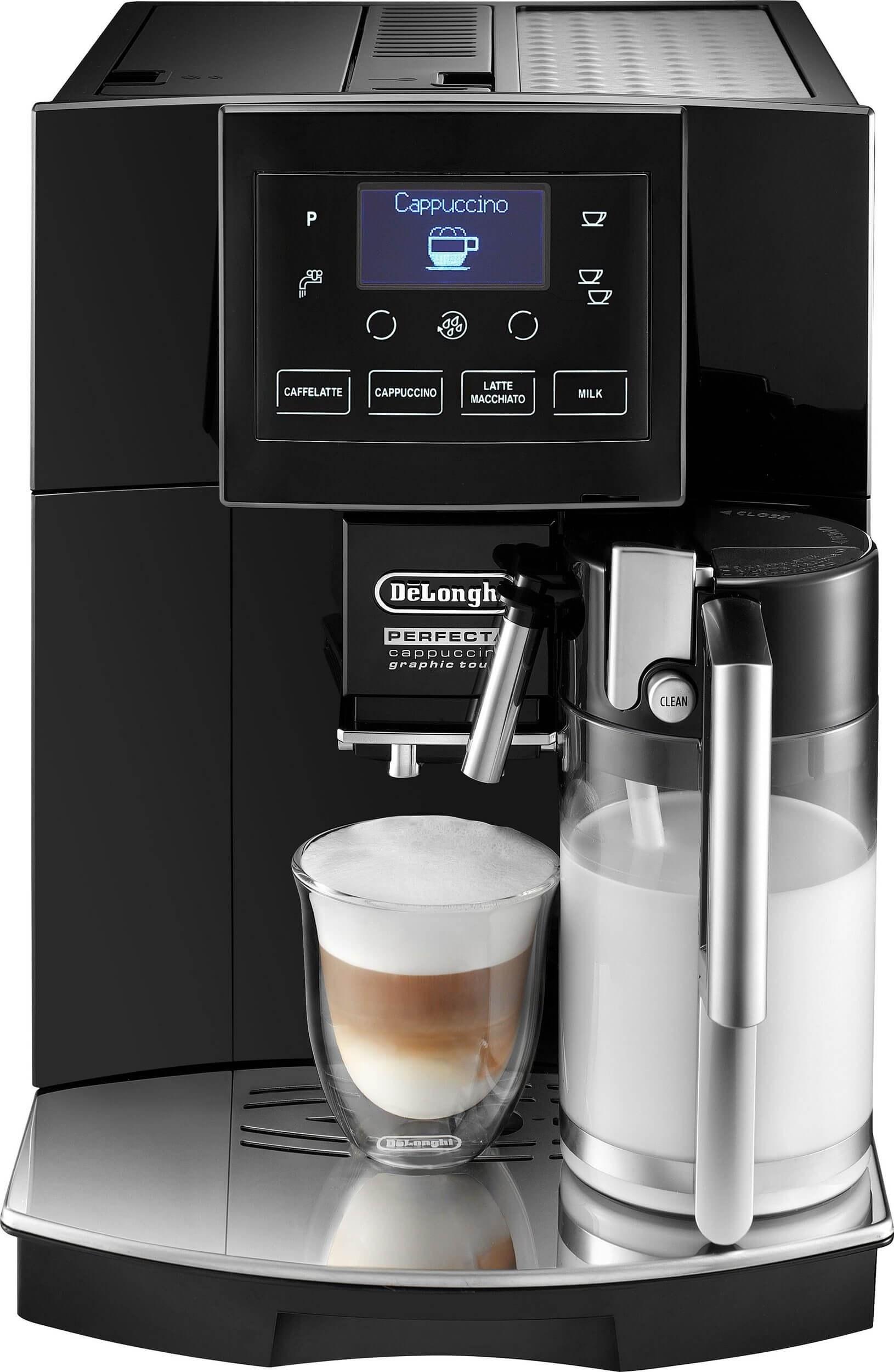 تصویر اسپرسو ساز دلونگی ایتالیا De'Longhi Kaffeevollautomat Perfecta ESAM 5556.B