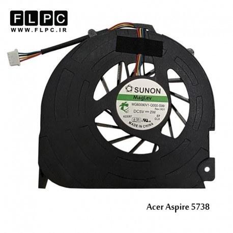 سی پی یو فن لپ تاپ ایسر Acer Laptop CPU Fan Aspire 5738 چهار سیم