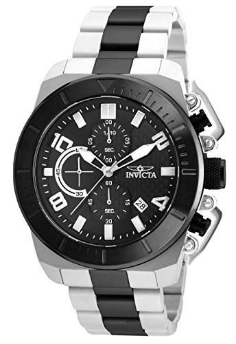 تصویر ساعت دیواری ژاپنی Quartz Diamonds Pro Invicta Men's Watch با تسمه فولادی ضد زنگ، دو تن، 24 (مدل: 23408) ا Invicta Men's Pro Diver Japanese-Quartz Watch with Stainless-Steel Strap, Two Tone, 24 (Model: 23408) Invicta Men's Pro Diver Japanese-Quartz Watch with Stainless-Steel Strap, Two Tone, 24 (Model: 23408)