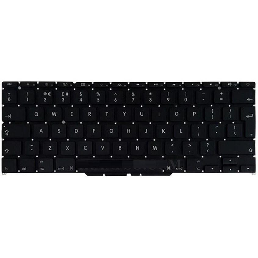 main images کیبورد لپ تاپ اپل 1370 مشکی اینتر بزرگ کیبورد لپ تاپ اپل 1370 Big Enter Keyboard