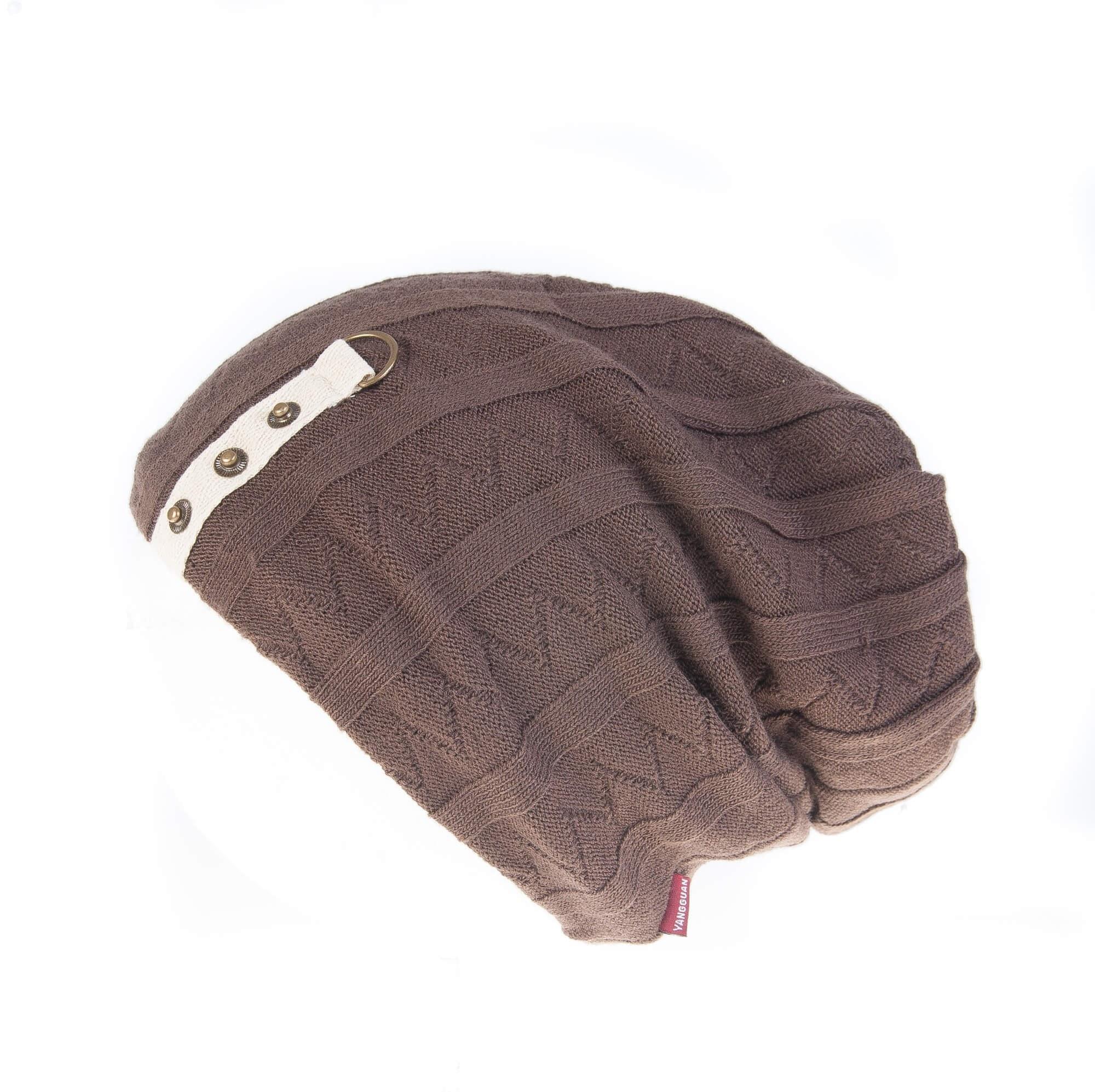 کلاه طرح دار مردانه GUAN YANG – پشمی HW1002