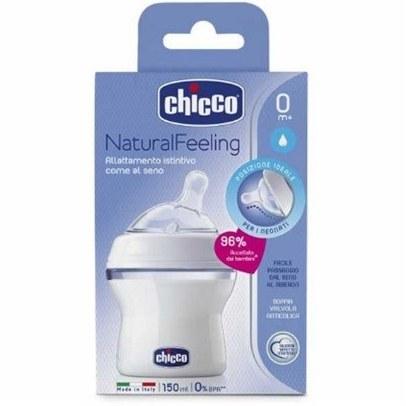 شیشه شیر جریان معمولی چیکو CHICCO 150ML |