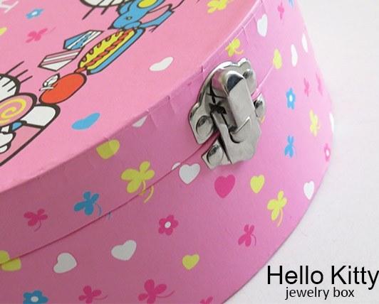 جعبه زیورآلات طرح هلوکیتیHello Kitty 2