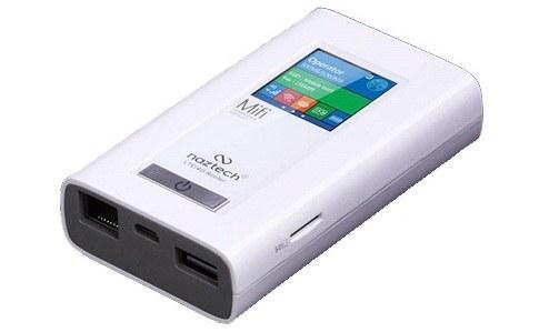 تصویر مودم 4G قابل حمل نزتک مدل NZT-99C Naztech NZT-99c Portable 4G Modem