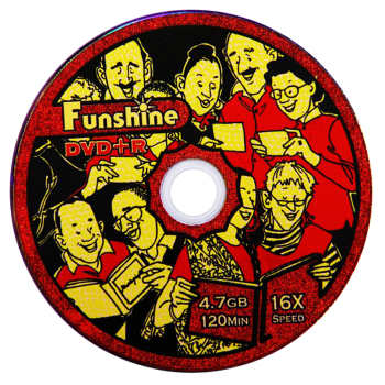 دی وی دی خام فانشاین مدل Fun600 بسته 600 عددی |
