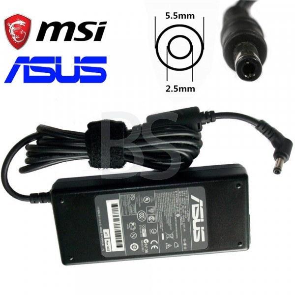 تصویر شارژر لپ تاپ MSI مدل FX720 (برند ASUS مناسب برای لپ تاپ MSI)