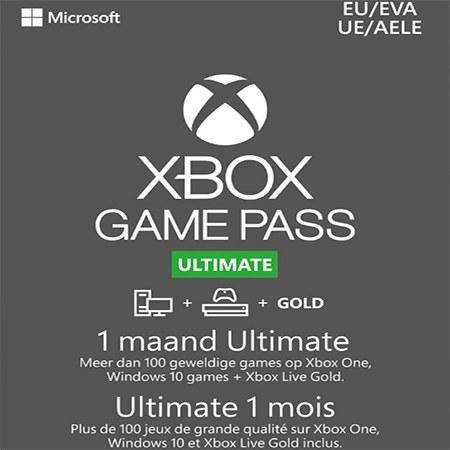 تصویر خرید کارت گیم پس آلتیمیت ایکس باکس 1 ماهه XBOX GAME PASS Ultimate 1 Month