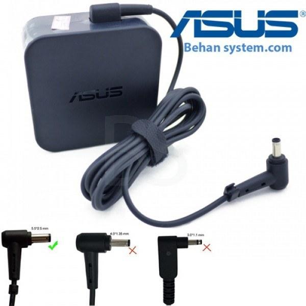 تصویر شارژر لپ تاپ ASUS مدل X550 (نمونه اصلی دارای شش ماه گارانتی تعویض)