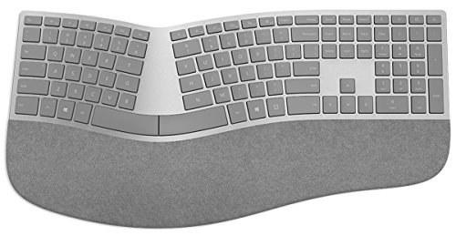تصویر کیبورد ارگونومیک سرفیس مدل 3RA-00022 محصول برند Microsoft . Microsoft 3RA-00022  Surface Ergonomic Keyboard