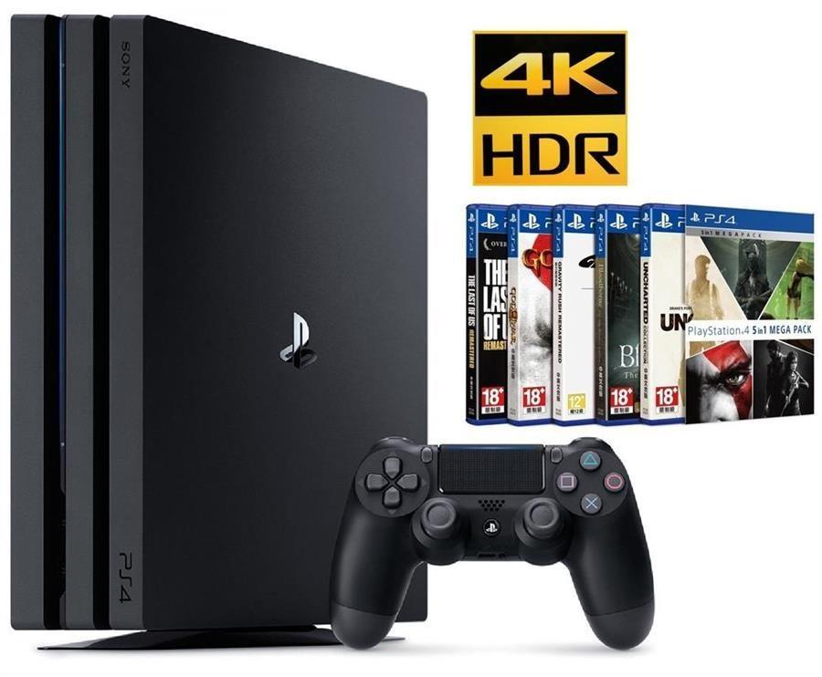 تصویر کنسول بازی سونی PlayStation 4 Pro ظرفیت 1 ترابایت | پلی استیشن 4 پرو SONY PlayStation 4 Pro Region 2 CUH-7216B 1TB HDD Game Console