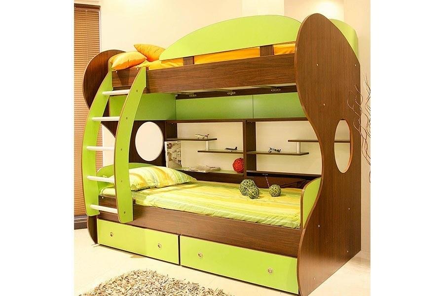 image تخت خواب دو طبقه کاپا