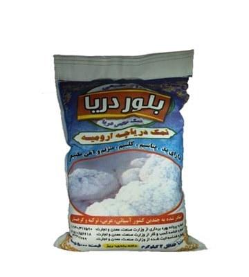 تصویر نمک دریاچه ارومیه