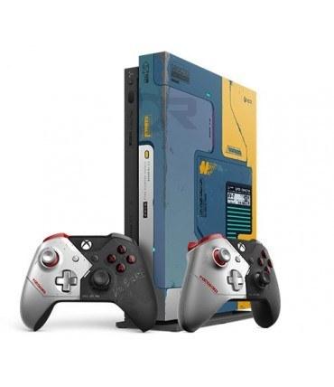 ایکس باکس وان ایکس باندل تولید محدود 2 دسته - Xbox one X Bundle Cyberpunk 2077 Limited Edition