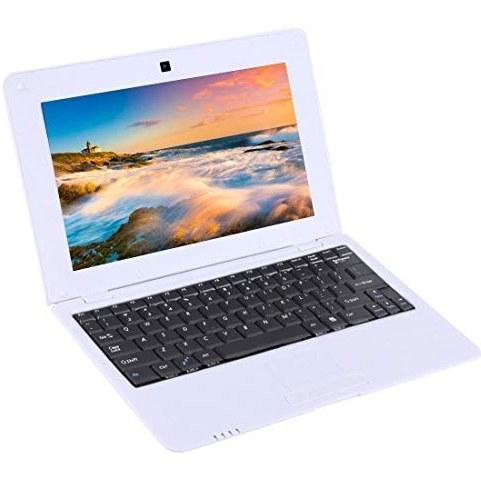 عکس کامپیوتر Computer & Products Netbook PC, 10.1 inch, 1GB+8GB, Android 6.0 Allwinner A33 Quad Core 1.5GHz, WiFi, USB, SD, RJ45(Black) Notebook Computer (Color : White) کامپیوتر