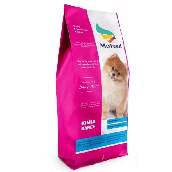 غذای خشک توله سگ نژاد کوچک، ۲ کیلوگرمی، برند مفید