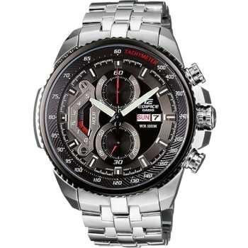 عکس ساعت مچی مردانه Casio مدل EF558D-1AV Casio Men's EF558D-1AV Silver Stainless-Steel Quartz Watch with Black Dial ساعت-مچی-مردانه-casio-مدل-ef558d-1av