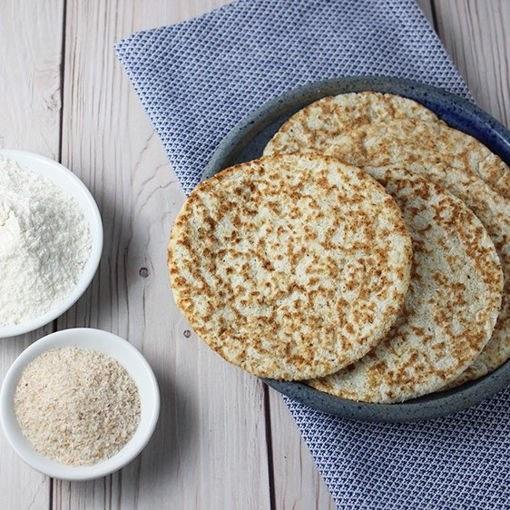 تصویر نان صبحانه 70 گرمی رژیمی (کتوژنیک)