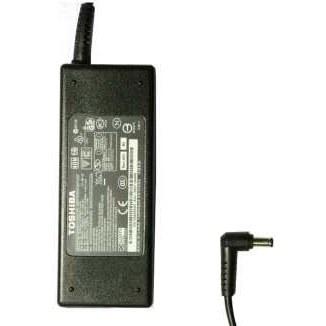 تصویر شارژر لپ تاپ 19 ولت 4.74 آمپر توشیبا مدل PA-1750-04 به همراه کابل برق