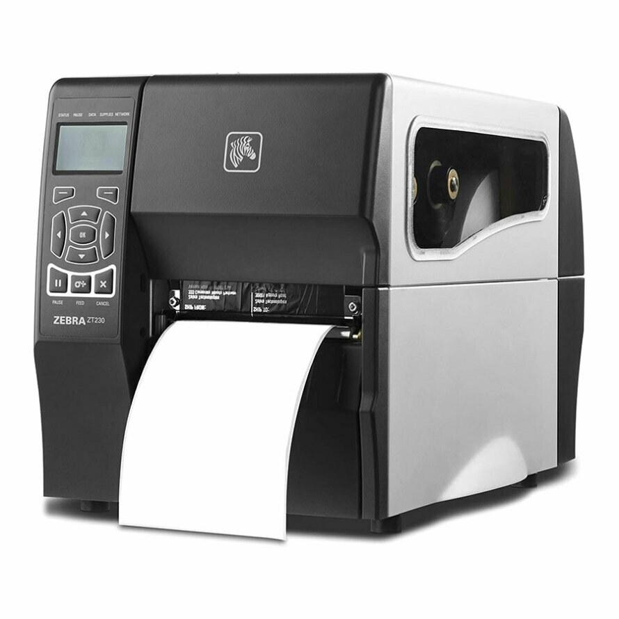 تصویر پرینتر لیبل زن صنعتی زبرا مدل ZT230 Zebra ZT230 Lebel Printer With