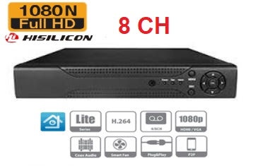 main images دستگاه دی وی آر 8کانال HISILICON