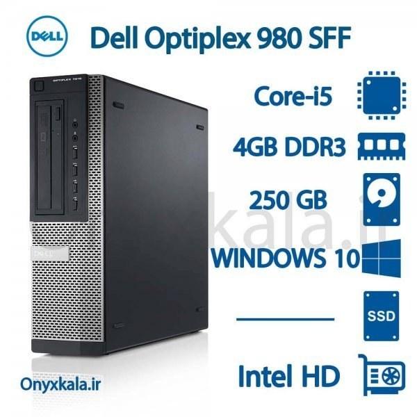 تصویر کامپیوتر دسکتاپ دل مدل OptiPlex 980 با پردازنده i5