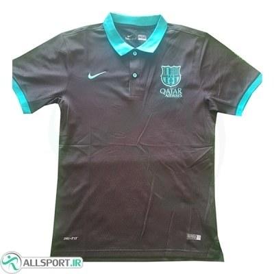 پلو شرت بارسلونا Barcelona Polo Shirt 2018-19 B