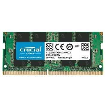 رم لپ تاپ کروشیال مدل DDR4 2400MHz ظرفیت 8 گیگابایت | Crucial DDR4 2400MHz SODIMM RAM - 8GB