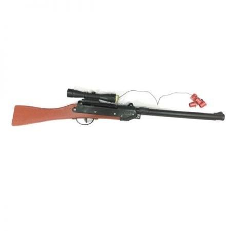 تفنگ اسباب بازی تیر پرتاب کن چوبی دیانا |