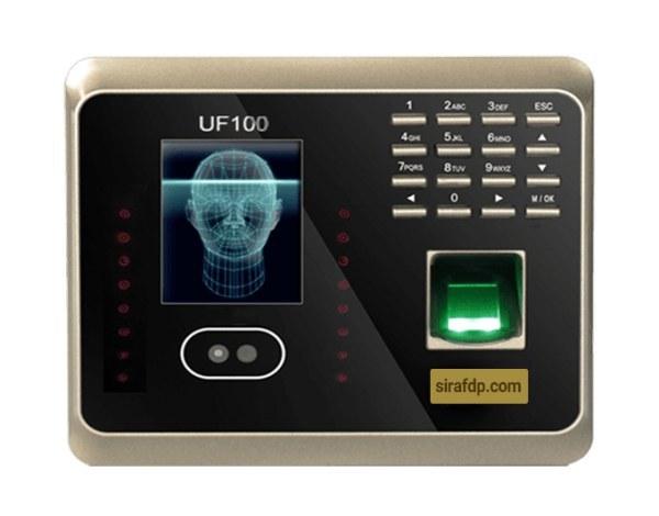 تصویر دستگاه حضور و غیاب تشخیص چهره UF100