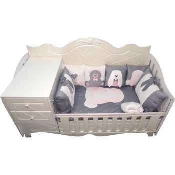 سرویس خواب 8 تکه کودک مدل Smart Rabbit |